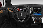 Car pictures of steering wheel view of a 2015 Lincoln MKC FWD 5 Door SUV Steering Wheel