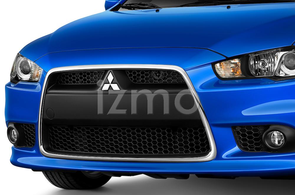 Front grille detail on a 2012 Mitsubishi Lancer Sportback GT