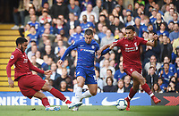 Eden Hazard of Chelsea <br /> 29-09-2018 Premier League <br /> Chelsea - Liverpool<br /> Foto PHC Images / Panoramic / Insidefoto <br /> ITALY ONLY
