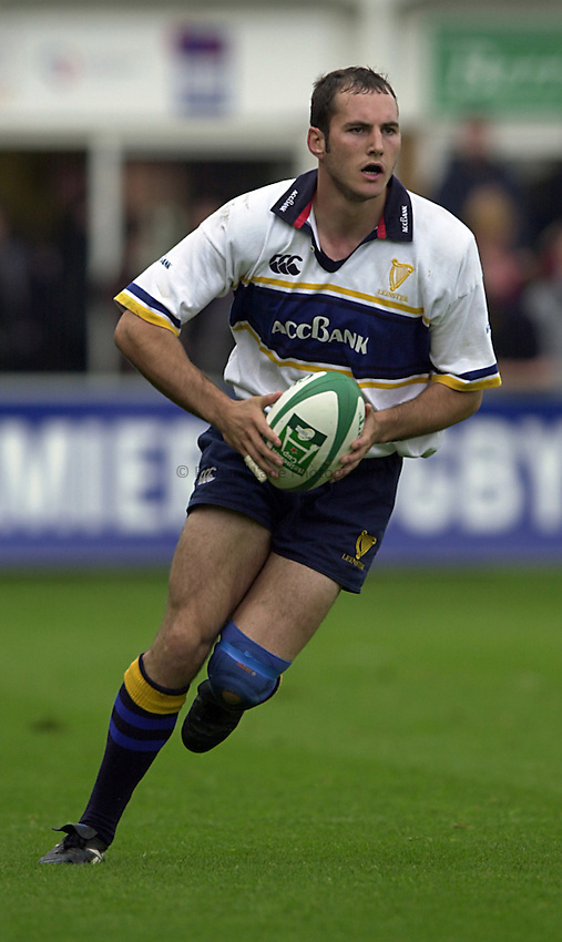 Photo. Richard Lane. .Northampton v Leinster. Heineken Cup. 21/10/2000..Girvan Dempsey.