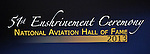 National Aviation Hall of Fame Enshrinement 2013