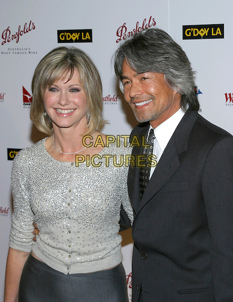 OLIVIA NEWTON-JOHN.G'Day LA Penfolds Black Tie Gala at the Century Plaza Hotel, Century City, California, USA, .15 January 2005..half length newton john.Ref: ADM.www.capitalpictures.com.sales@capitalpictures.com.©Jacqui Wong/AdMedia/Capital Pictures .