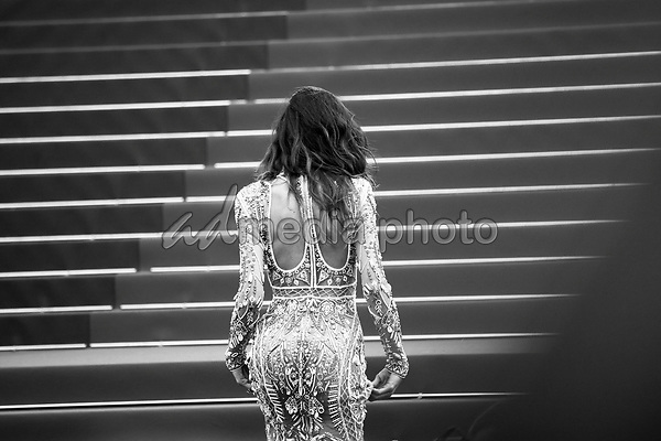 """24 May 2017 - Cannes, France - Izabel Goulart . """"The Beguiled"""" Premiere during the 70th Cannes Film Festival. Photo Credit: GeorgWenzel/face to face/AdMedia"""