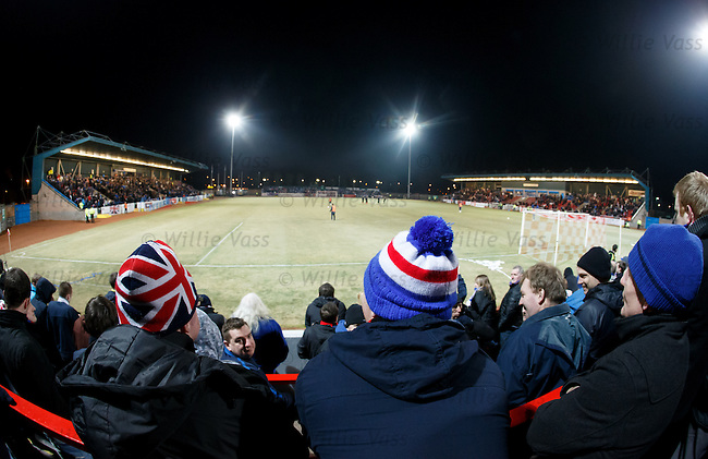 A chilly night at Forthbank stadium