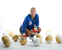 Hope Solo, USWNT Portraits, Carson, California, 2006.
