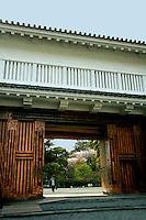 "Gate to Odawara Castle - Odawara is the gateway to Fuji Hakone National Park and the nearest Shinkansen Bullet Train station.  Odawara is well known for its castle, the nearest city to Hakone and also fish cakes or ""kamaboko"" a Japanese delicacy"
