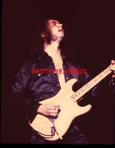 Deep Purple 1974 Ritchie Blackmore.© Chris Walter.
