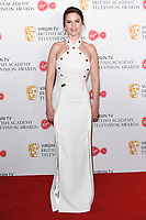 Hayley Atwell in the winners room for the BAFTA TV Awards 2018 at the Royal Festival Hall, London, UK. <br /> 13 May  2018<br /> Picture: Steve Vas/Featureflash/SilverHub 0208 004 5359 sales@silverhubmedia.com
