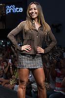 SÃO PAULO, SP, 04.03.2015 - MEGA FASHION WEEK -Sabrina Sato desfila no Mega Fashion Week, evento de moda que acontece em São Paulo (SP), na tarde desta quarta-feira (4). (Foto: Kevin David / Brazil Photo Press)