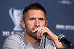 30 November 2012: Los Angeles' Robbie Keane (IRL). The Los Angeles Galaxy held a press conference at the Home Depot Center in Carson, California in preparation for playing the Houston Dynamo in MLS Cup 2012.