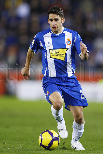 "Ferran Corominas (Espanyol), .JANUARY 30, 2010 - Football : .Spanish ""Liga Espanola"" match between Espanyol and Athletic Bilbao at Cornella-El Prat stadium in Barcelona, Spain. .Photo: D.Nakashima/Actionplus UK Editorial Only"