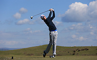 Billy Watson during Round Two of the West of England Championship 2016, at Royal North Devon Golf Club, Westward Ho!, Devon  23/04/2016. Picture: Golffile | David Lloyd<br /> <br /> All photos usage must carry mandatory copyright credit (&copy; Golffile | David Lloyd)