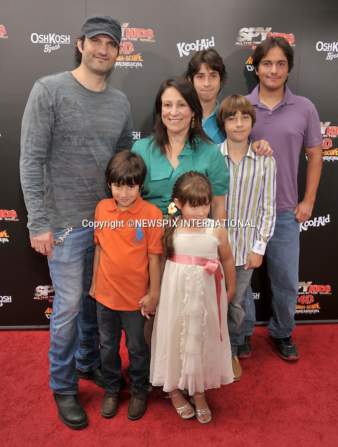 """JESSICA ALBA, ELIZABETH AVELLAN AND KIDS.attends the World Premiere of """"Spy Kids: All The Time In The World"""" at the Regal Cinemas, L.A. Live, Los Angeles, California_31/07/2011.Mandatory Photo Credit: ©Crosby/Newspix International. .**ALL FEES PAYABLE TO: """"NEWSPIX INTERNATIONAL""""**..PHOTO CREDIT MANDATORY!!: NEWSPIX INTERNATIONAL(Failure to credit will incur a surcharge of 100% of reproduction fees).IMMEDIATE CONFIRMATION OF USAGE REQUIRED:.Newspix International, 31 Chinnery Hill, Bishop's Stortford, ENGLAND CM23 3PS.Tel:+441279 324672  ; Fax: +441279656877.Mobile:  0777568 1153.e-mail: info@newspixinternational.co.uk"""