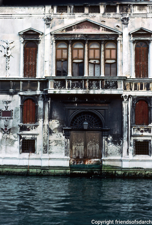 Venice: #9.  Grand Canal in evening light.  Photo '83.