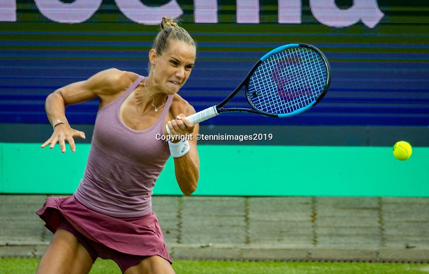Rosmalen, Netherlands, 13 June, 2019, Tennis, Libema Open, Arantxa Rus (NED)<br /> Photo: Henk Koster/tennisimages.com