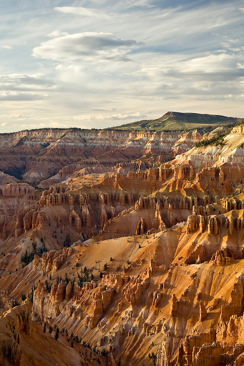 View of Cedar Breaks Amphitheater from Point Supreme in Cedar Breaks National Monument, Utah