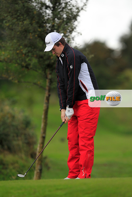 John Hickey (Cork) on the 8th tee during Day 3 of the Irish Youths Amateur Close Championship at Claremorris Golf Club on Friday 30th August 2013 <br /> Picture:  Thos Caffrey/ www.golffile.ie