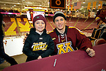 skate with Gophers, Ironman Adam Wilcox