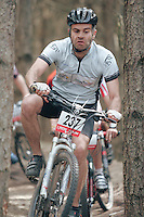 07 APR 2007 - THETFORD, UK - Mike Barrie - British Mountain Bike X Country series Round 1 Race 2. (PHOTO (C) NIGEL FARROW)