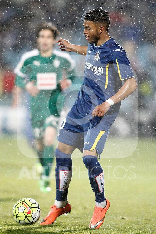 Getafe's Wanderson during La Liga match. March 18,2016. (ALTERPHOTOS/Acero)