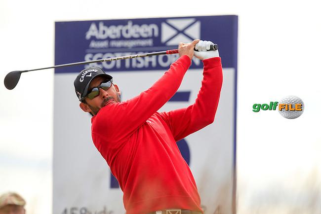 Pablo Larazabal (ESP) during the first round of the Aberdeen Asset Management Scottish Open 2016, Castle Stuart  Golf links, Inverness, Scotland. 07/07/2016.<br /> Picture Fran Caffrey / Golffile.ie<br /> <br /> All photo usage must carry mandatory copyright credit (&copy; Golffile | Fran Caffrey)