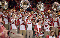 NWA Democrat-Gazette/BEN GOFF @NWABENGOFF<br /> Arkansas vs Charleston Southern basketball on Friday Nov. 20, 2015 in Bud Walton Arena in Fayetteville.