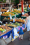 Shopping for fresh produce at Rusty's Markets.  Cairns, Queensland, Australiag
