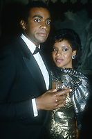 Ahmad Rashad, Phylicia Rashad, 1988, Photo By John Barrett/PHOTOlink