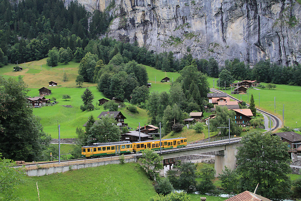 Lauterbrunnen, Eiger, Switzerland, Europe 2011,
