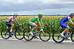 Fabio Sabatini (ITA), Green Jersey Marcel Kittel (GER) and Zdenek Stybar (CZE) Quick-Step Floors in action during Stage 11 of the 104th edition of the Tour de France 2017, running 203.5km from Eymet to Pau, France. 12th July 2017.<br /> Picture: ASO/Pauline Ballet | Cyclefile<br /> <br /> <br /> All photos usage must carry mandatory copyright credit (&copy; Cyclefile | ASO/Pauline Ballet)