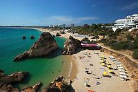 Portugal, Algarve, near Alvor: Praia dos Tres Irmaos