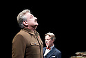 Collaborators by John Hodge, A World Premiere directed by Nicholas Hytner. With  Alex Jennings as Mikhail Bulgakov, Simon Russell Beale  as Joseph Stalin. Opens at The Cottesloe Theatre at The Royal National Theatre on 1/11/11  . CREDIT Geraint Lewis