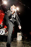 The Hives performing at The Forum, 29 December 2008