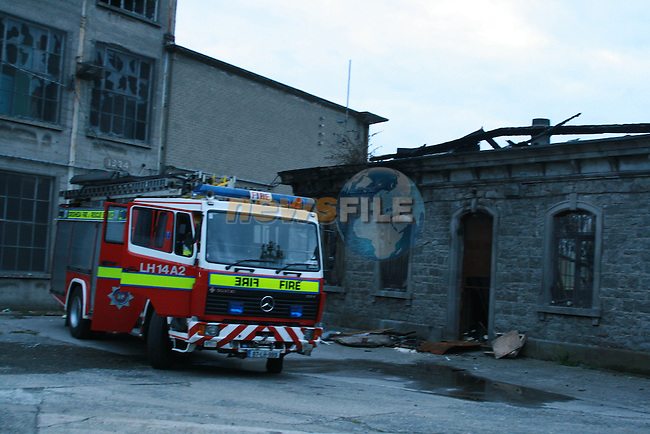 Fire Boyne Mill...Photo NEWSFILE/Jenny Matthews.(Photo credit should read Jenny Matthews/NEWSFILE)....This Picture has been sent you under the condtions enclosed by:.Newsfile Ltd..The Studio,.Millmount Abbey,.Drogheda,.Co Meath..Ireland..Tel: +353(0)41-9871240.Fax: +353(0)41-9871260.GSM: +353(0)86-2500958.email: pictures@newsfile.ie.www.newsfile.ie.FTP: 193.120.102.198.