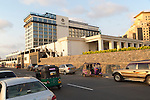 Modern architecture Kingsbury Hotel building central Colombo, Sri Lanka, Asia
