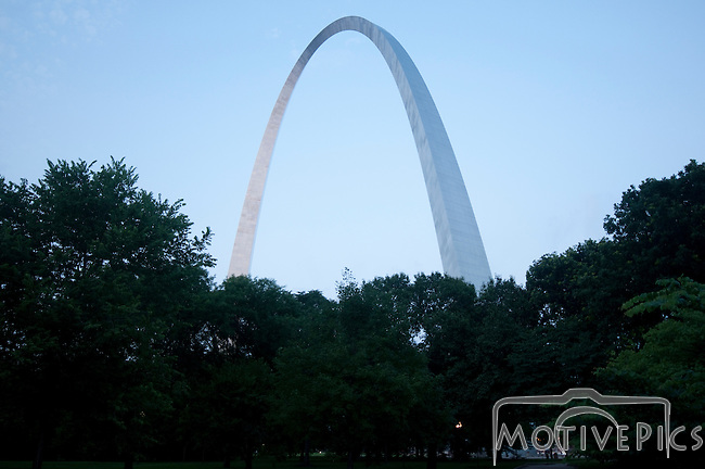 Downtown St. Louis Arch Grounds St. Louis Arch Buy Prints at www.motivepics.com