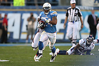 11/27/11 San Diego, CA: San Diego Chargers running back Ryan Mathews #24 during an NFL game played between the Denver Broncos and the San Diego Chargers at Qualcomm Stadium. The Broncos defeated the Chargers 16-13 in OT