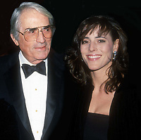 Gregory Peck Cecelia Peck 1988<br /> Photo By Adam Scull/PHOTOlink.net