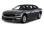 2019 Dodge Charger SXT 4 Door Sedan angular front stock photos of front three quarter view
