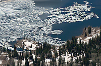 Thawing Lake, Gunnison National Forest, Colorado. May 2014. 84326