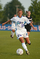 Nancy Augustyniak of the Atlanta Beat during their June 9th 2-0 shutout of the New York Power at Mitchel Athletic Complex, Uniondale, New York.
