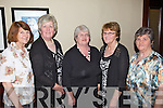 Mary Geary(Templeglantine), Betty Curtin and Ann Cahill(Mountcollins) with Noreen Sullivan and Chrissie Roche(Tournafulla) pictured last Friday night in The Devon Inn, Templeglantine at the Annual West Limerick Pioneer Social.