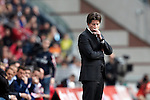 Nederland, Amsterdam, 22 april 2012.Seizoen 2011/2012.Eredivisie.Ajax_FC Groningen.Pieter Huistra trainer-coach van FC Groningen