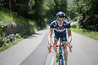 Frederik Backaert (BEL/Wanty Groupe-Gobert)<br /> <br /> stage 7: Aoste &gt; Alpe d'Huez (168km)<br /> 69th Crit&eacute;rium du Dauphin&eacute; 2017