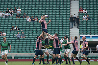 Twickenham, Lancashire, 27th May 2018.Action from the Bill Beaumont Division 1 Final, Rugby, Lancashire vs Hertfordshire,    RFU. Stadium, Twickenham. UK.  <br /> <br /> &copy; Peter Spurrier/Alamy Live News