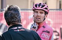 Maglia Rosa Tom Dumoulin (NED/Sunweb) post-stage <br /> <br /> Stage 15: Valdengo &rsaquo; Bergamo (199km)<br /> 100th Giro d'Italia 2017