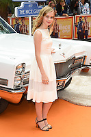 "Angourie Rice<br /> arrives for the premiere of ""The Nice Guys"" at the Odeon Leicester Square, London.<br /> <br /> <br /> ©Ash Knotek  D3120  19/05/2016"