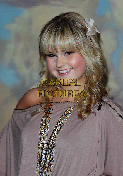 ASHLEE KEATING.Big Brothers Big Sisters Spring Luncheon 2010  held at The Beverly Hills Hotel, Beverly Hills, California, USA..April 27th, 2010.headshot portrait beige necklaces gold flower in hair.CAP/ADM/TC.©T. Conrad/AdMedia/Capital Pictures.