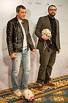 The Spanish actor Antonio Banderas automata presented in Madrid the film. 2015/01/20. Madrid. Samuel de Roman / Photocall3000