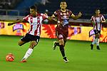Junior venció como local 1-0 a Deportes Tolima. Fecha 19 Liga Águila I-2017.